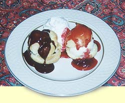 Make these delicious profiteroles at home!